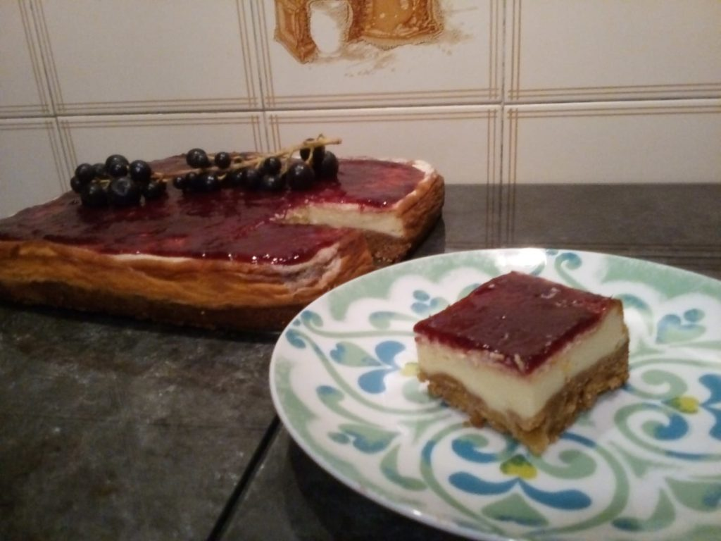 Cheesecake al Bustreng