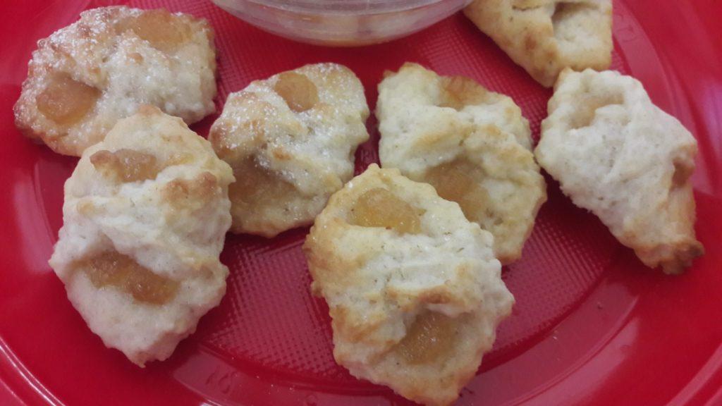 Biscottini alla Ricotta con Marmellata